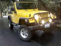 mail jeep lifted tk u0027s yellow krait ljk buildup by tkfx jeep wrangler tj build