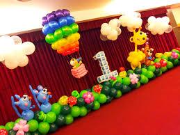 balloon arrangements for birthday 1st birthday balloon decoration ideas decoration