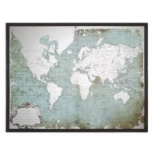 Wall Art World Map by The Well Appointed House Luxuries For The Home The Well