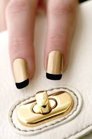 cool stripe nail designs striping tape accent nails and matte black
