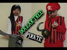 pirate halloween costume dollar tree youtube