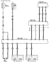 1998 toyota tacoma radio wiring schematic 1998 wiring diagrams