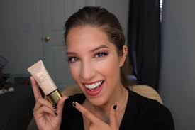 estee lauder double wear light foundation estee lauder double wear light foundation demo and review youtube