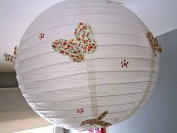 lampion japonais papier lampe boule japonaise customiser une boule japonaise suspension
