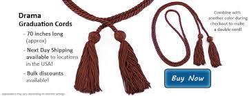 graduation cords cheap graduation cords for drama students drama cords