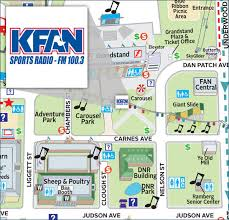 minnesota state fair map map find kfan at the minnesota state fair kfan fm 100 3