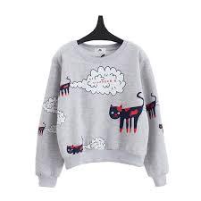cat sweater poof cat sweater kogiketsu