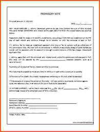 doc 400530 free promissory note template word u2013 promissory note