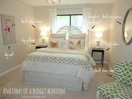 Bedroom Makeover Ideas On A Budget Livelovediy Decorating Bedrooms With Secondhand Finds The Guest