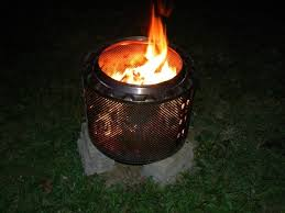 Making Fire Pit From Washer Tub - alluring making a fire pit from washing machine drum anyone made