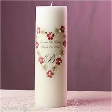 personalize candles unity candles unity candle stand