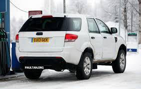 Ford Everest Facelift Spyshots Ford Everest Next Gen On Winter Trials