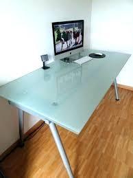 glass desk top glass desk design space glass desk top glass desk glass table top world