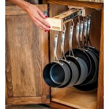 kitchen cabinet organizers for pots and pans 222 best kitchen pots pans organization images on pinterest in and
