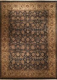 Black Gold Rug Indo Designer Rugs 8x10 Tabriz Black Gold