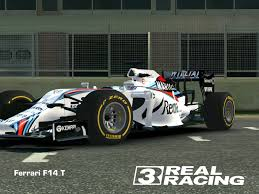 martini racing ferrari real racing 3 mod skin livery vinly 2014 ferrari f1 f14t f1 2015