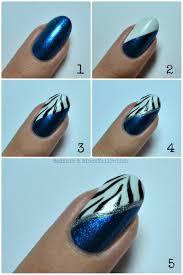 zebra nail art tutorial nail art tutorial nail design tutorial