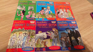 6 mcdonald u0027s happy meal gift enid blyton books secret