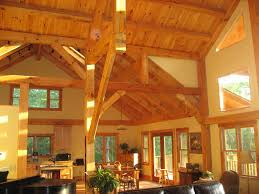 decor inside timber frame houses architecture toobe8 nice warm