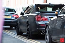 matte black and pink bmw matte black bmw 7 series bimmer knows how to attract attention