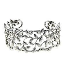 cuff bracelet tiffany images Tiffany co olive leaf bracelet 324965 collector square jpg