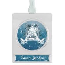 christmas tree ornament hockey goalie dad ceramic ornament