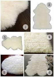 Imitation Sheepskin Rugs Best 25 Sheepskin Rug Ideas On Pinterest White Sheepskin Rug