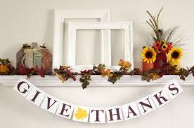 give thanks banner thanksgiving banner thanksgiving decor