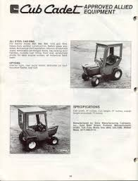 ih cub cadet forum looking for pics of an 82 series sgt with a