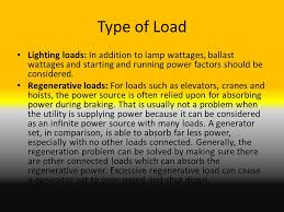 power factor for lighting load generator application and sizing ppt video online download