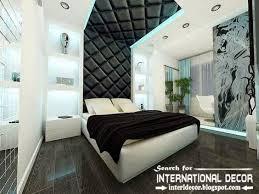 Modern Pop False Ceiling Designs For Bedroom  Leather Ceiling - Ceiling ideas for bedrooms