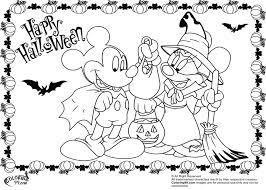 mickey minnie mouse halloween coloring pages gekimoe u2022 111557
