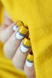 23 new yellow nail designs u2013 nail art designs 2017