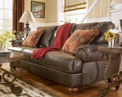 Rustic Leather Armchair Rustic Leather Living Room Furniture Home Decorations