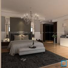 Master Bedroom Pakubuwono Apartment Master Bedroom Design