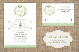 How To Make An Invitation Card For Wedding Spring Wedding Invitations Preview Get Creative Blog Creative