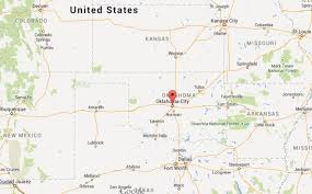 map of oklahoma where is oklahoma city on map of oklahoma world easy guides
