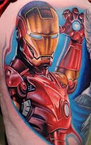 32 superhero marvel tattoo ideas designbump
