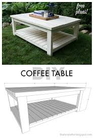Wood Coffee Table Plans Free by Free Coffee Table