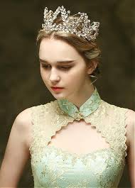 wedding tiara buy discount in stock delicate alloy wedding tiara with