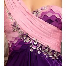 unique purple dress contrast colors and sequins at belonda