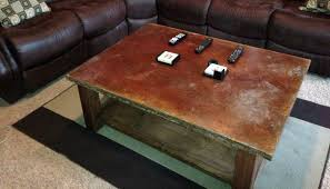 how to clean concrete table top how to acid stain a concrete table make diy projects and ideas