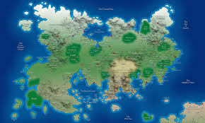 Fake Map The World Of Khoras Maps