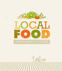 farm to table concept local food market from farm to table creative organic vector