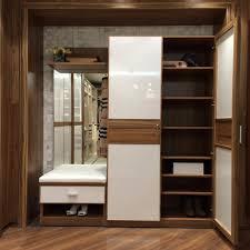 Bedroom Woodwork Designs Almari Design In Wall Wood Image Interior Room Almirah