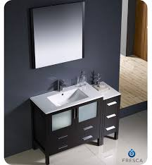 Bathroom Vanity With Side Cabinet 36
