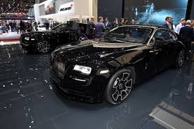 roll royce black rolls royce cars news black badge models targeting younger crowd
