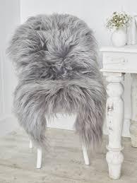 Imitation Sheepskin Rugs Faux Sheepskin Rug Grey Roselawnlutheran