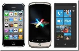 iPhone VS Windows Phone 7 VS Android