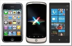 iPhone VS Windows Phone 7 VS Android